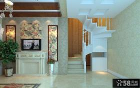 复式住宅楼梯的设计效果图