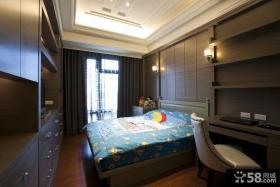 欧式古典儿童房室内设计效果图片