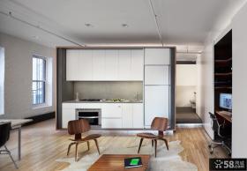 实木环保住宅设计厨房效果图