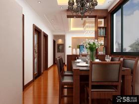新中式风格餐厅装饰图片