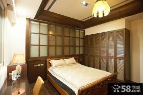 美式10平米小卧室装修效果图