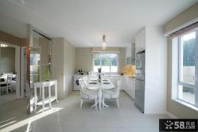 家装厨房餐厅一体装修效果图片