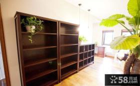 室内实木置物架效果图片欣赏