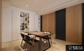 66平米简约小户型家装设计效果图2014