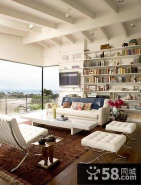家装客厅吊顶设计图