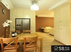 日式家装设计小餐厅图片