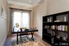 简约大气的书房装修效果图