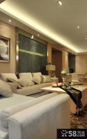 现代简约小户型室内装修设计图