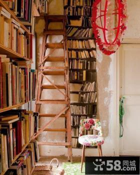小复式楼书房装修效果图大全2014图片