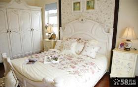 欧式风格卧室装修图2014