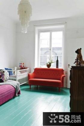50平小户型客厅一角装修效果图大全2012图片