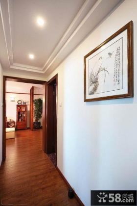 家庭走廊墙面挂画