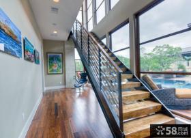 家装豪华复式楼梯设计图片大全