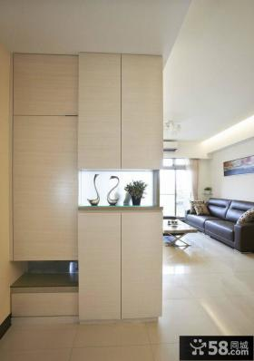 现代风格室内玄关设计效果图