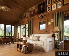 美式别墅设计样板间