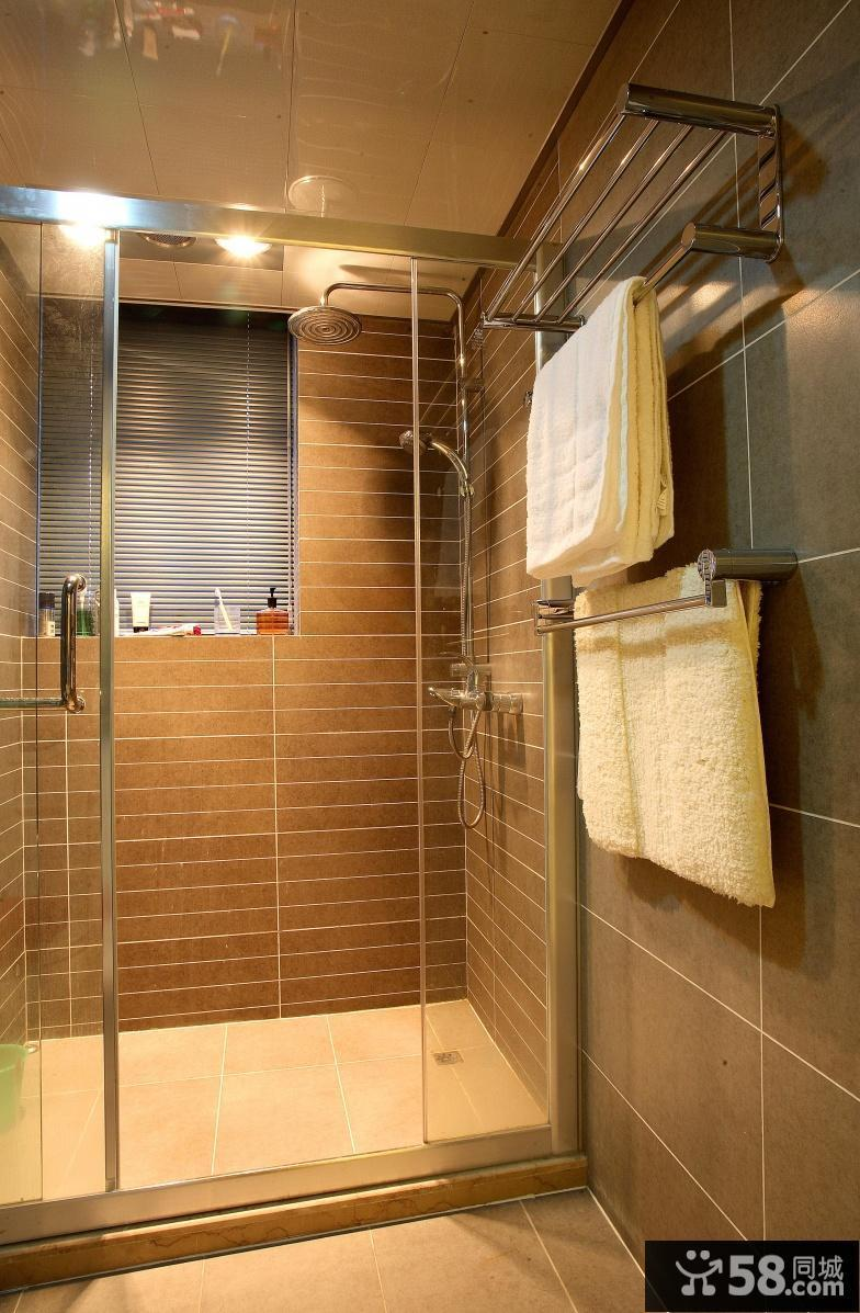 二室一厅卫生间装修效果图