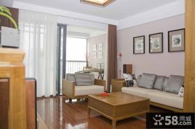 简中式小户型客厅装修效果图欣赏