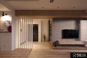 简约风格一居室小户型装修样板间效果图
