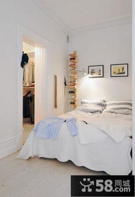 欧式风格50平米小户型卧室装修效果图片