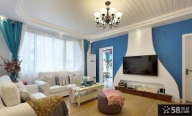 地中海风格家居别墅室内装饰效果图