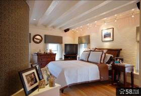 复式楼主卧室装修效果图大全2014图片