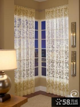 阳台窗帘装修效果图大全2013图片欣赏