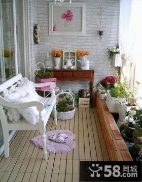 温馨小阳台装修效果图欣赏