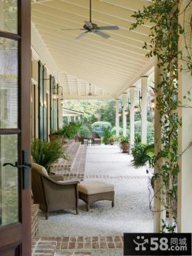 长廊大阳台设计