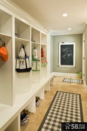 进门玄关鞋柜设计