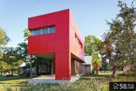 现代别墅设计外观效果图