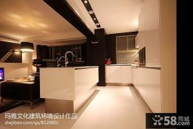 现代风格厨房整体橱柜台面设计