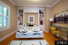 卧室装修效果图片欣赏 欧式卧室装修效果图