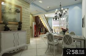 复式楼餐厅装修设计效果图欣赏