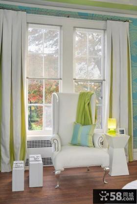 卧室窗帘设计效果图