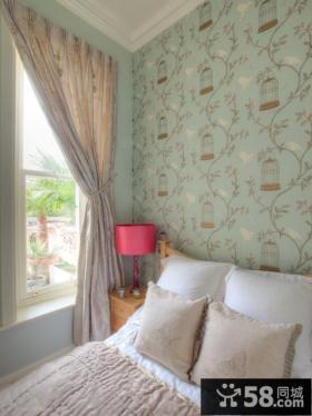 温馨卧室液体壁纸效果图