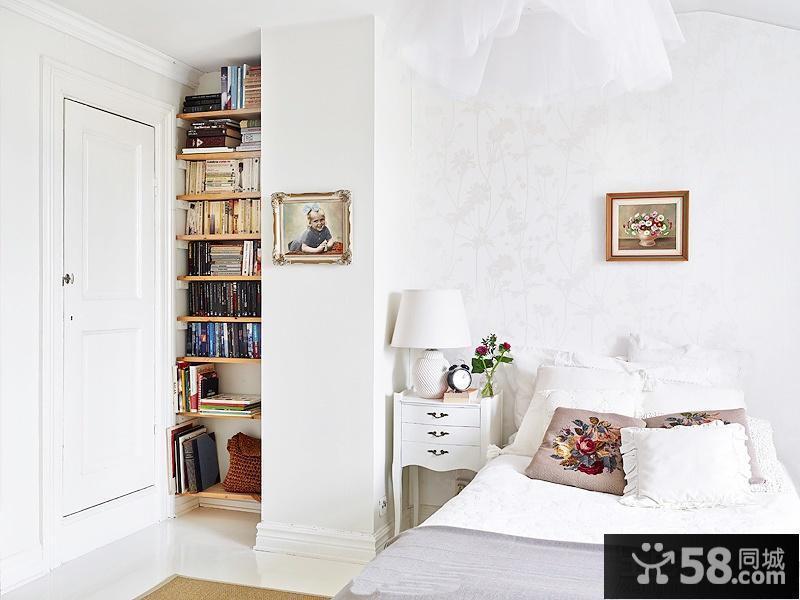 卧室书架装修效果图