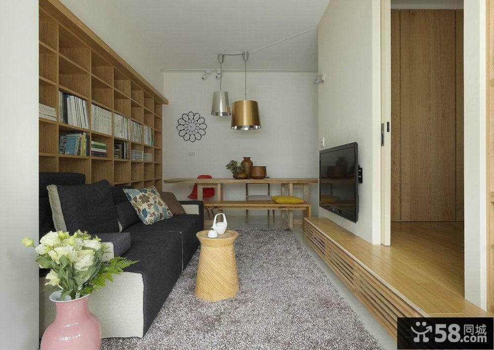 韩式小户型客厅装修效果图大全