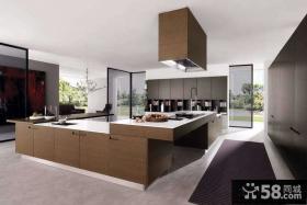 现代大户型厨房设计效果图
