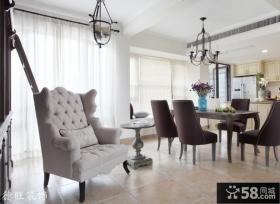 餐厅休闲沙发效果图