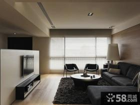 后现代风格客厅电视背景墙图片大全