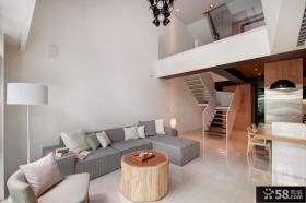 简约现代别墅室内装饰效果图片