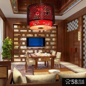 家居餐厅新中式吊灯图大全