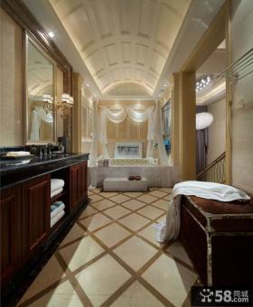 新古典风格复式卫生间图片