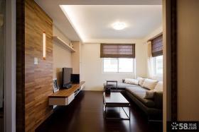 美式小客厅吊顶欣赏