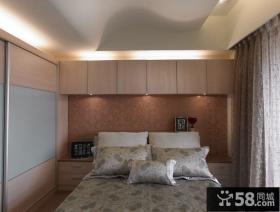 现代简约风格床头背景墙设计