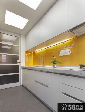 开放式厨房橱柜装修设计