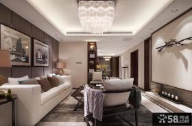 现代风格小户型两室两厅客厅装修效果图