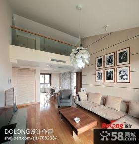 复式楼家装客厅装修设计图