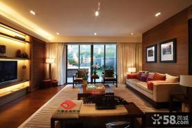 中式古典装修风格客厅效果图