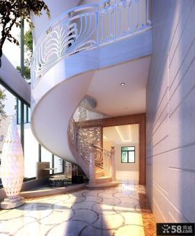 欧式楼梯效果图欣赏